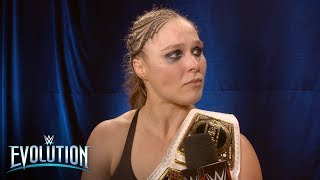 An emotional Ronda Rousey has a new respect for Nikki Bella: WWE Exclusive, Oct. 28, 2018