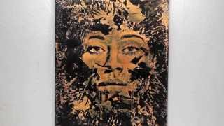 """Entropy"" // Vhils // Screenprint // Acid"