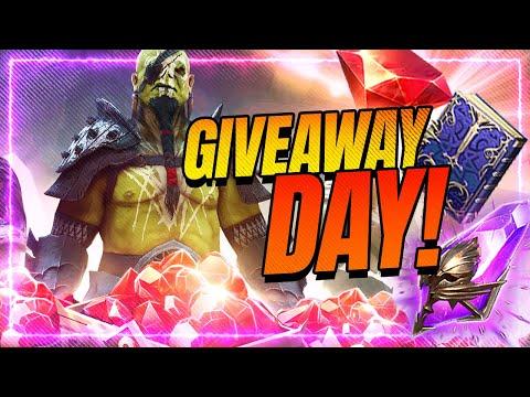Giveaway + Weekly Kickoff! Patch SOON! | RAID Shadow Legends