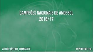 Sporting Campeão Nacional de Andebol 16/17