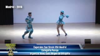 8vo CONCURSO DE CAPORALES MADRID 2016 - SAN SIMON USA MADRID