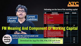 Meaning And Component Of Working Capital