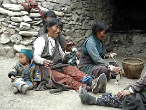 Dolpo #6: Village life in Charkha,Upper Dolpo in Nepal