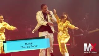 "Mase Performs ""Feel So Good"" & ""What You Want"" f/ Total at Bad Boy Family Reunion show in Brooklyn"