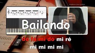 Bailando   Enrique Iglesias   Karaoke para flauta   Educação Musical   José Galvão