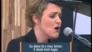 """Mara Leite - """"Lugar de Paz"""" no Feliz Sábado"""