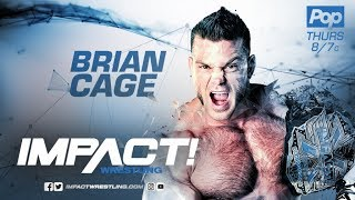 IMPACT Wrestling | Brian Cage Theme Song w/ I'M A MACHINE Intro