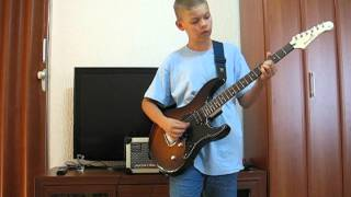 AC/DC - Back in black awesome guitar cover