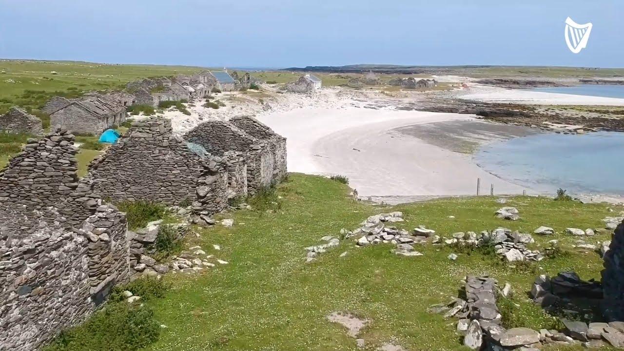 Drone Footage Captures one of Ireland's most beautiful forgotten Atlantic Islands