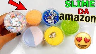 SLIME COMPRATI DA AMAZON AD 1 EURO! BELLISSIMI! Iolanda Sweets