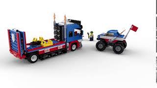 LEGO Creator 31085 Mobiele stuntshow 360°