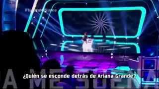 Tu Cara Me Suena- Martina La Peligrosa Imita A Ariana Grande