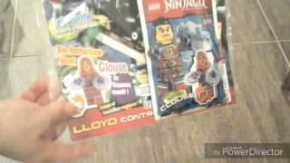 Unboxing! Magazine lego ninjago, dernier épisode saison 5 et construction live de Claouse saison 6 !