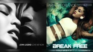 """Break Me Now"" - Mashup of Ariana Grande/John Legend"