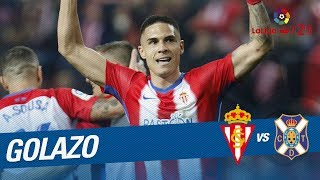 Golazo de Djurdjevic (2-0) Real Sporting vs CD Tenerife
