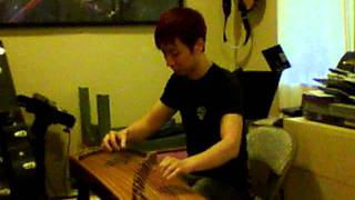 "Frank plays the Chinese ""Koto"" - Part 2"