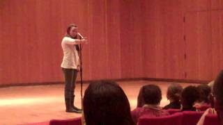"Sierra DeMulder performs ""Static"" at Macalester College"