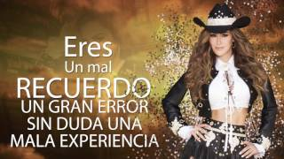 Ninel Conde - Tú No Vales La Pena (Official Lyric Video)