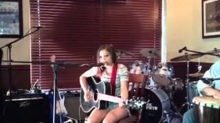 Brianna Dorso, live cover, guitar/vocals of Colbie Caillat'