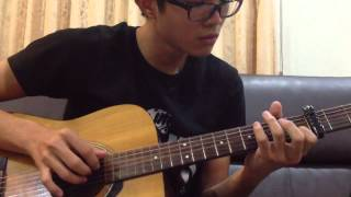 Hello,Goodbye (안녕) -(Hyolyn)효린 来自星星的你 guitar cover by Haijunqiqi