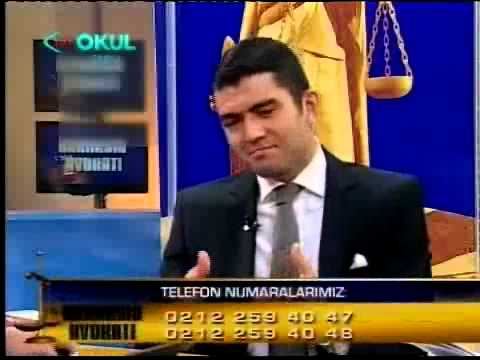 TRT Okul - Herkesin Avukatı / Arş. Gör. Ahmet Ayar