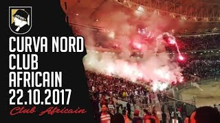 Curva Nord, Club Africain 22.10.2017