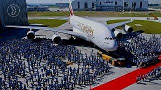 Pouso e Decolagem do Maior Avião de Passageiros do Mundo 2017 - Airbus A380