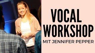 Gesangsworkshop mit Jennifer Pepper