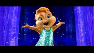 música da Frozen let it go em Alvin e os Esquilos