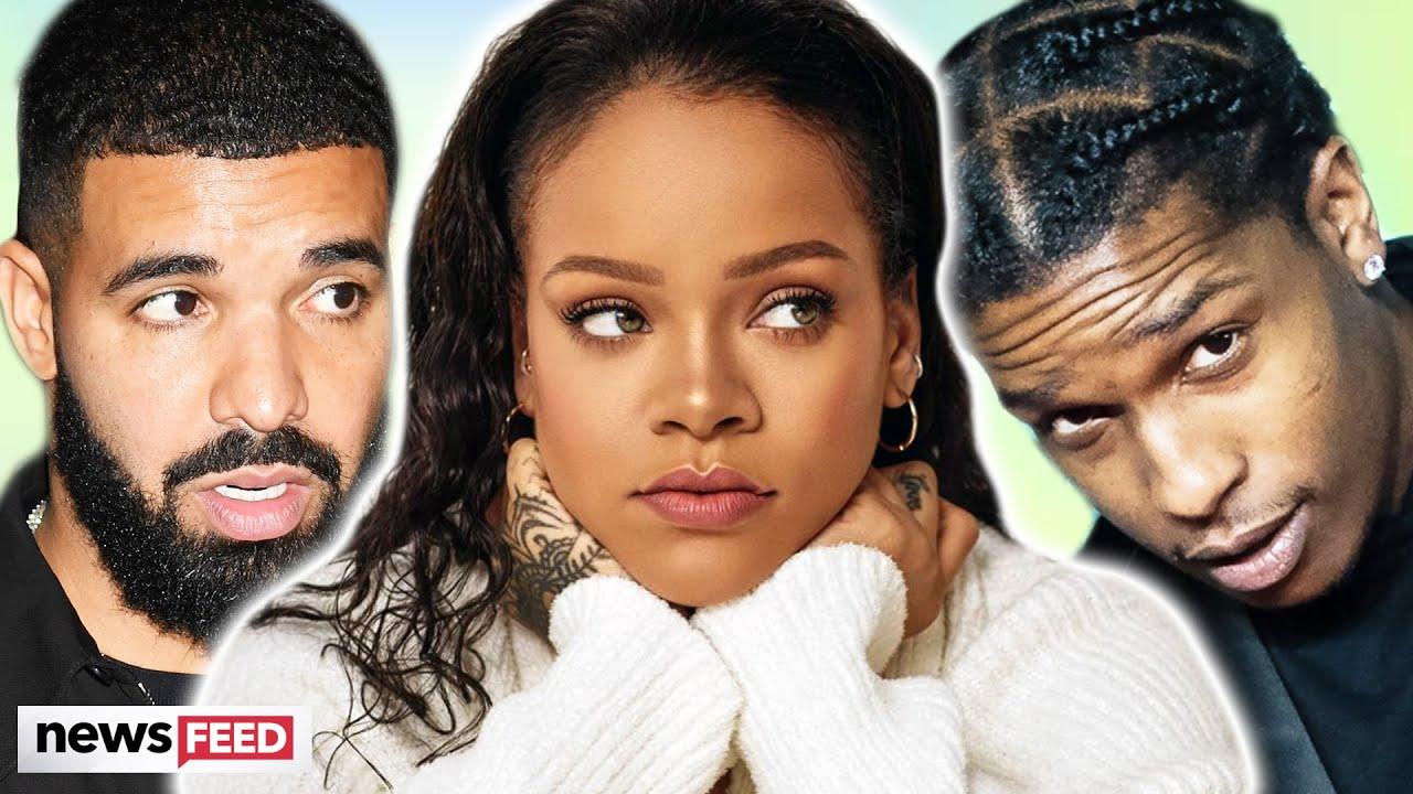Rihanna rebounding with Drake & asap Rocky Post Breakup!