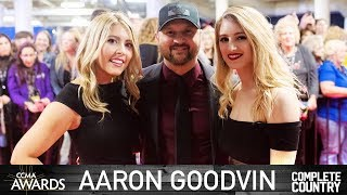 Complete Country: Aaron Goodvin At The CCMA's