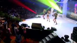 This is Kiss Daniel performing at AY Live