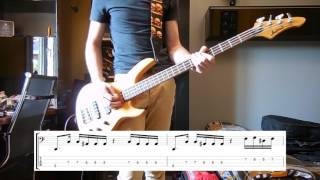 Royal Blood - Don't Tell Bass cover with tabs