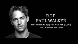 New Paul Walker Tribute