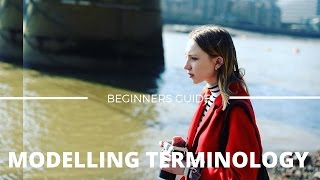 Beginners Guide to MODELLING Terminology