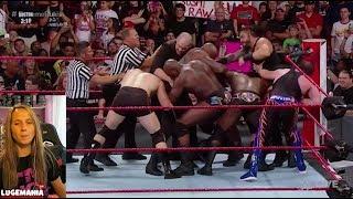 WWE Raw 7/9/18 Roman Reigns Calls out Bobby Lashley