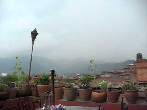 View from Guest House, Bhaktapur, Nepal