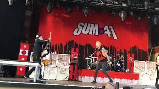 Sum 41 @ Stockholm, SWE 06/21/17 - Goddamn I'm Dead Again