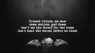 Avenged Sevenfold - God Damn [Lyrics on screen] [Full HD]