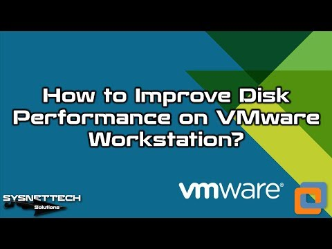 VMware HDD Performance Enhancement Video