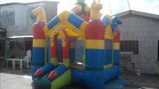 Tico e Teco  Festas  , Brinquedo, barracas, toalhas, banner.wmv