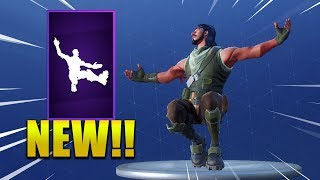 *NEW* SQUAT KICK EMOTE/DANCE IN FORTNITE ! Fortnite Battle Royale