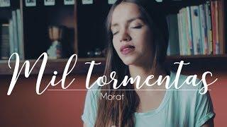 Mil tormentas by Morat - Laura Naranjo cover