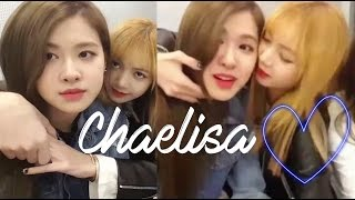 CHAELISA moments #2 (BLACKPINK) Lisa + Rosé ♥