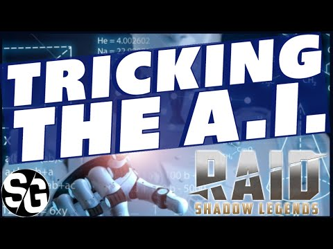 RAID SHADOW LEGENDS | TRICK THE A.I. TO ATTACK ONLY ONE CHAMPION | RAID TRICKS TIPS