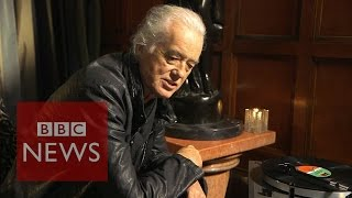 Jimmy Page: How Stairway to Heaven was written - BBC News width=