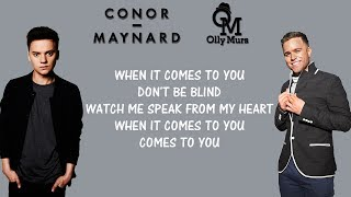 Conor Maynard, Olly murs - 2U (Lyrics) David Guetta Ft. Justin Bieber mashup cover