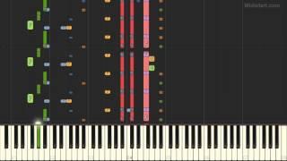 Yolanda Be Cool - We No Speak Americano (Piano Tutorial) [Synthesia]