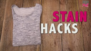 How To Remove All Types Of Stains   Stain Removal Hacks - POPxo