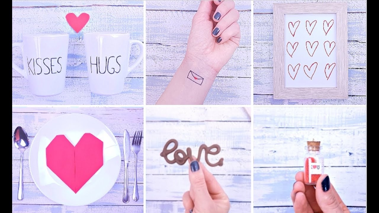 10 Best DIY Valentine's Day Hacks and Gift Ideas